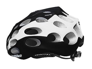 Catlike Mixino mate blanco y negro casco 2015, negro