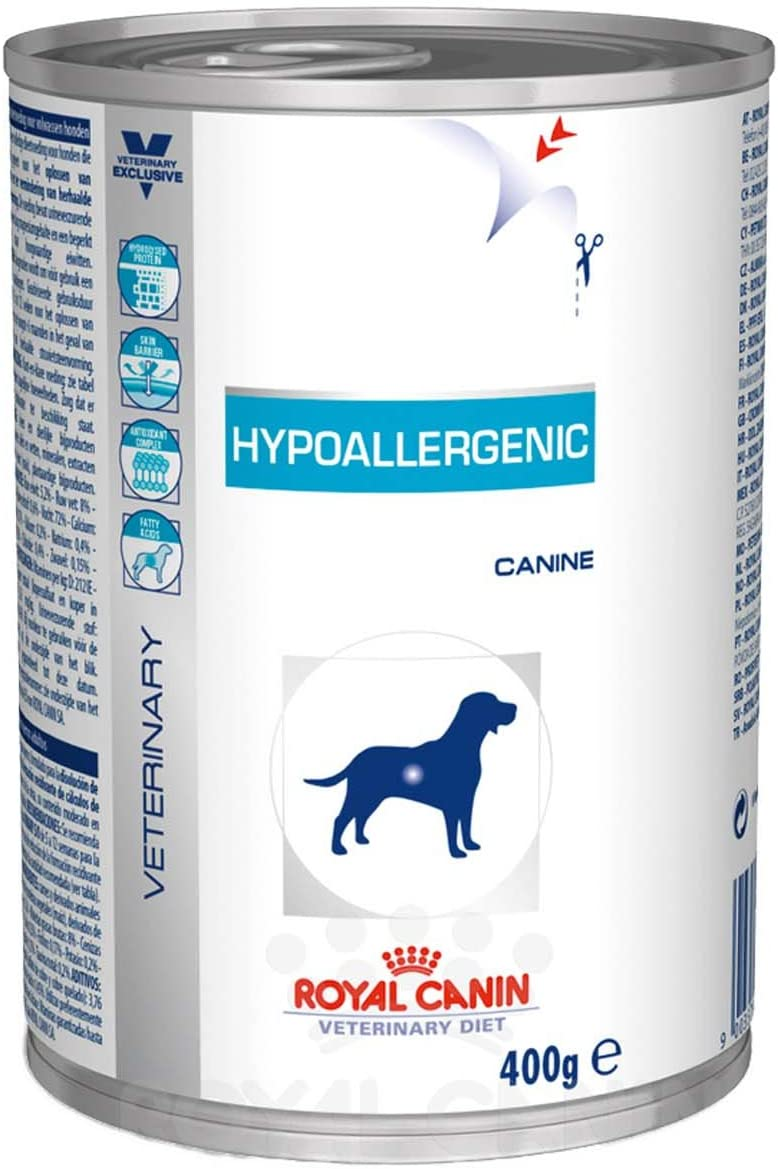 Royal Vet Canine Hypoallergenic Caja 12X400Gr 4800 g: Amazon.es: Productos para mascotas