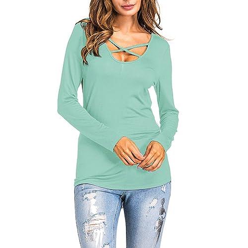 LANGLUO - Camisas - para mujer