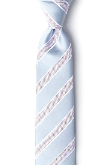 956181719351 Amazon.com: Jefferson Stripe Gray Microfiber Tie For Boys: Clothing