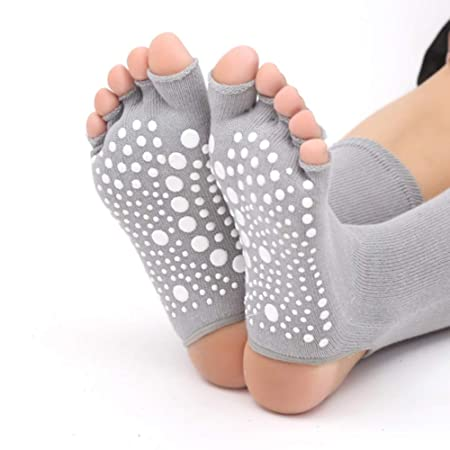 Calcetines De Yoga, Calcetines De Yoga De Sección Larga ...