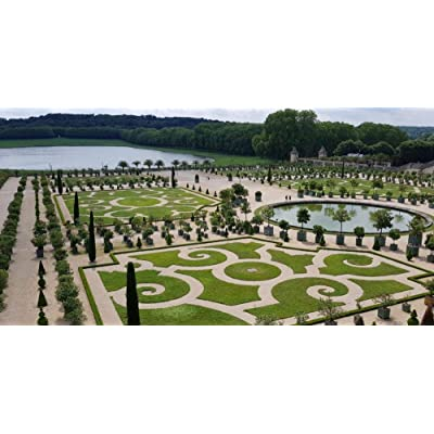 SJYYR Beautiful Green Trees and Lake Water in Front of The Palace of Versailles 1000 Piece Puzzles for Kid Adult Toy Gift DIY Game Exercise Hands Family Education: Home & Kitchen