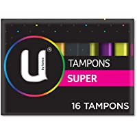 U by Kotex Tampons, Super (Pack of 16)