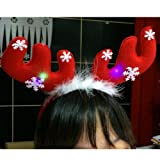 Clearance Forthery LED Light Up Headband Funny