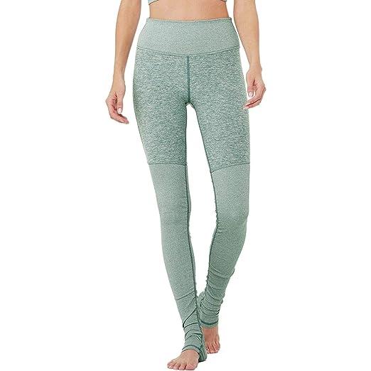 0ca4014666067 Alo Yoga High-Waisted Alosoft Goddess Legging - Women s Seagrass  Heather Seagrass Heather