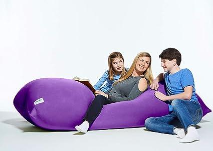 amazon com yogibo max cover only bright purple home kitchen