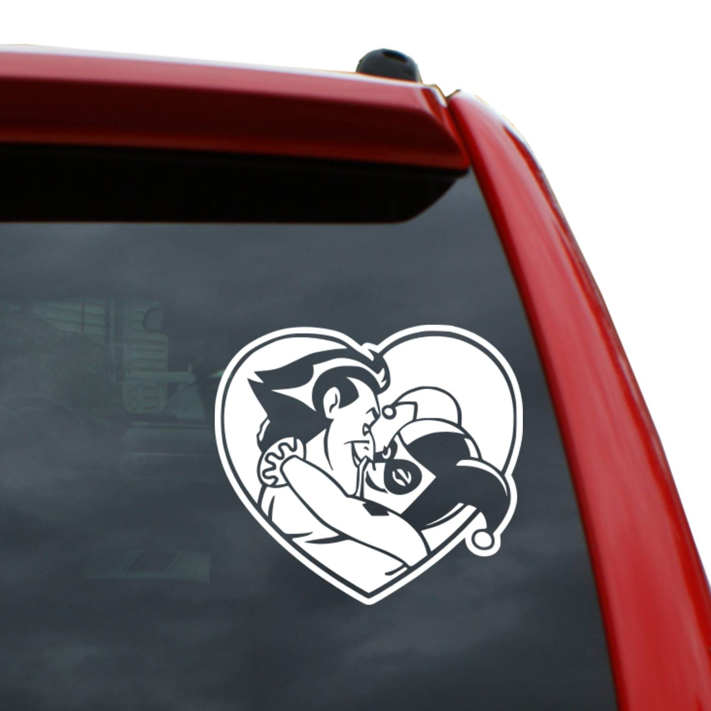 Amazon com joker tall vinyl decal window sticker for cars trucks windows walls laptops and more automotive