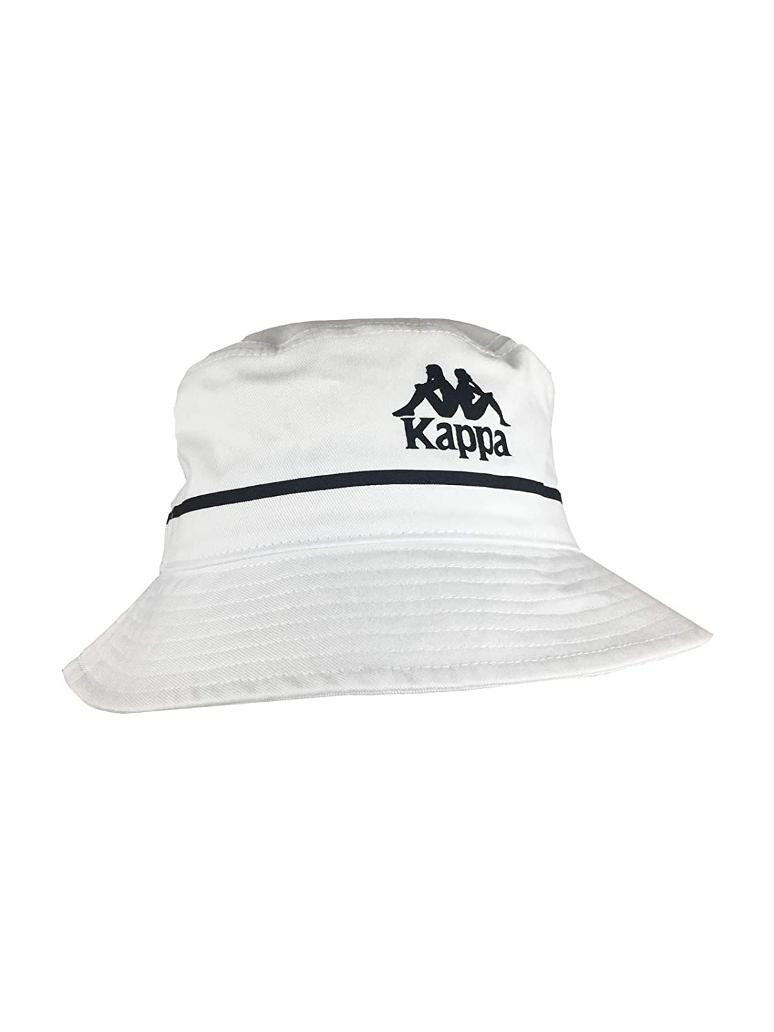 0a8fdbfed68f4 Kappa Authentic Bucketo Bucket Hat in White at Amazon Men s Clothing store