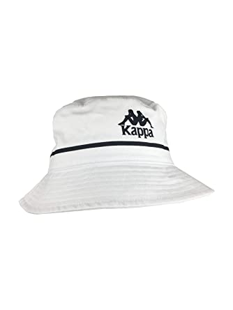0c749c5725 Kappa Authentic Bucketo Bucket Hat in White at Amazon Men's Clothing store: