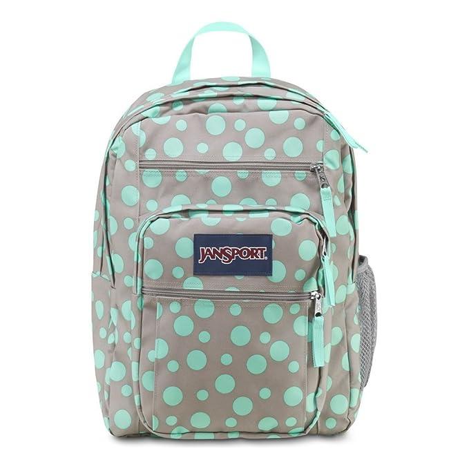 Amazon.com   JanSport Big Student Backpack (Grey Rabbit/Aqua Dash Dots)   Casual Daypacks