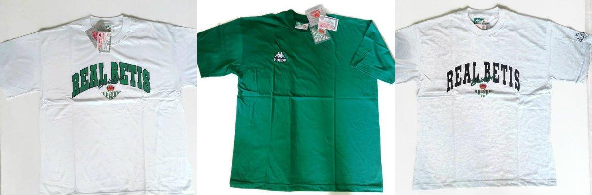 Pack 3 camisetas Betis Kappa Vintage Original Coleccionistas T.XL Ref.Verde: Amazon.es: Deportes y aire libre