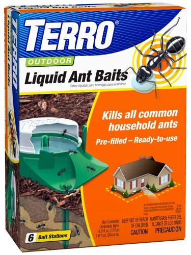 Terro Outdoor Liquid Ant Baits, (Pack of 3), 6 count,