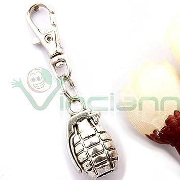 Llavero Metal militar Bomba mano Granada Puerta llaves llave ...