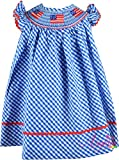 Boutique Clothing Girls USA America Flag Red White Blue Classic Bishop Dress 4T