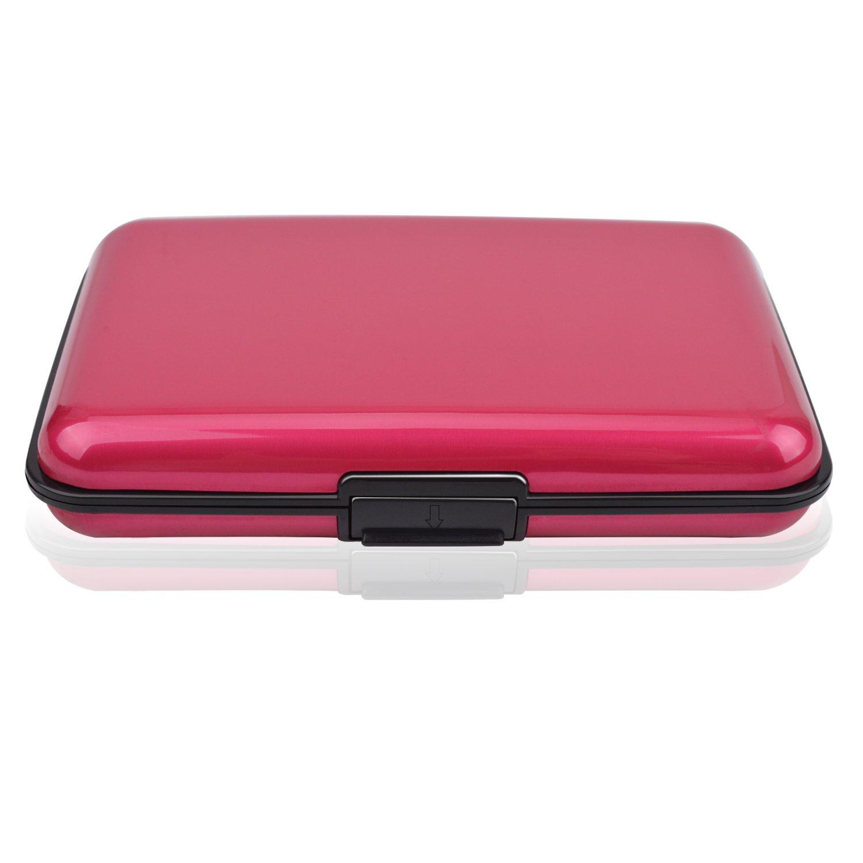 Hard Credit Card Case Holder, MaxGear Hard Credit Card Holder Slim Credit Card Case with RFID Protection
