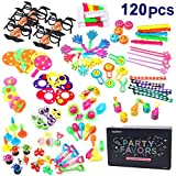 Amy&Benton 120PCS Kids Birthday Party Favors Carnival Prizes Pinata Filler Toy Assortment Incentives