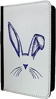 minimaliste Lapin passeport Coque–S299