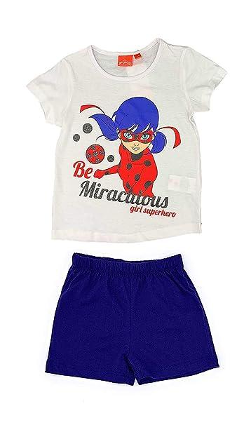 5 6 Size 4 MIRACULOUS LADYBUG Girl Miraculous Lady Bag White T Shirt 8 /& 10 Years 7