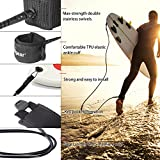Unigear Premium Surf Leash Paddleboard Sup Leash Maximum...