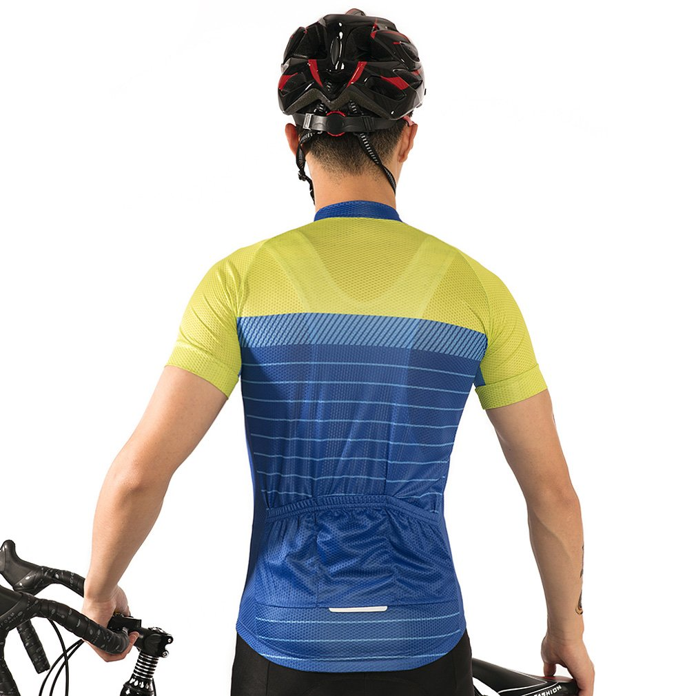 Nawing Cycling Jersey Quick Dry Summer Speed Sport Short Sleeve Bicycle Clothes Top