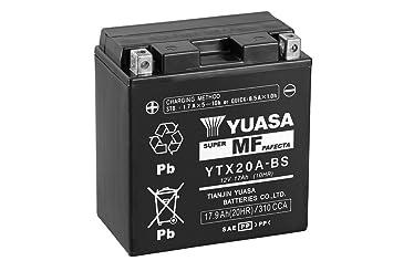 Batterie YUASA YTX20A-BS Ma/ße: 150x87x161 12V//17AH