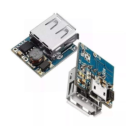 DENG XIA Pilote De Module 2Pcs 5V Cargador de batería de ...