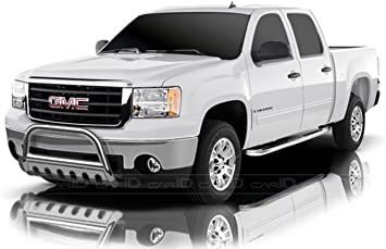 R/&L Racing 5 Oval Chrome Side Step Nerf Bars Rail Running Boards For 04-16 Titan Crew Cab