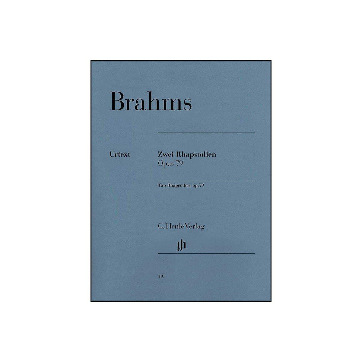 Two Rhapsodies, Op. 79 PDF