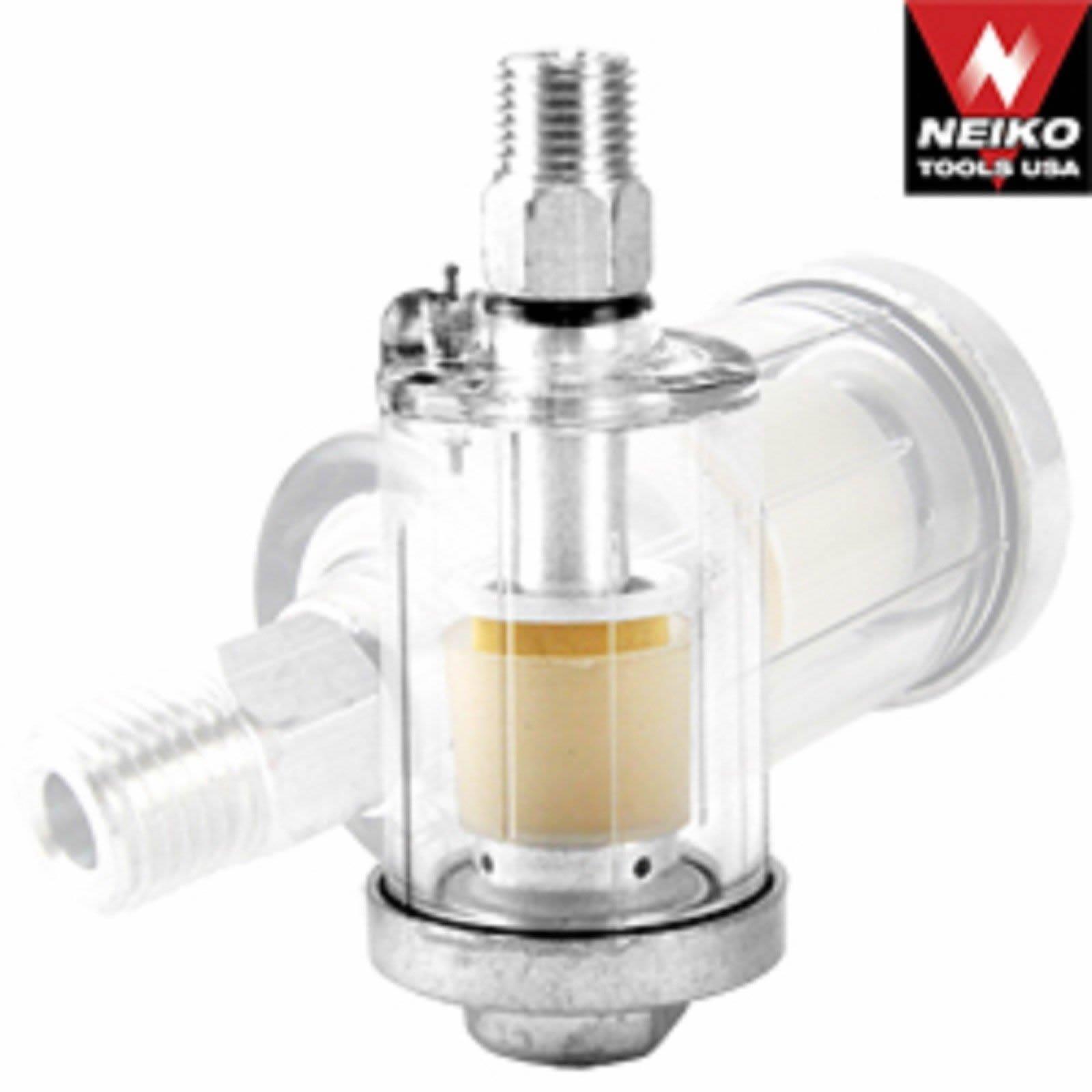 Mini Inline Air Hose Compressor Water Oil Filter Dryer