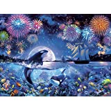 Buffalo Games - Marine Color - The Dramatic Night - 1000 Piece Jigsaw Puzzle