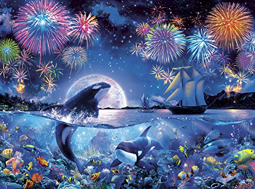 Buffalo Games – Marine Color – The Dramatic Night – 1000 Piece Jigsaw Puzzle