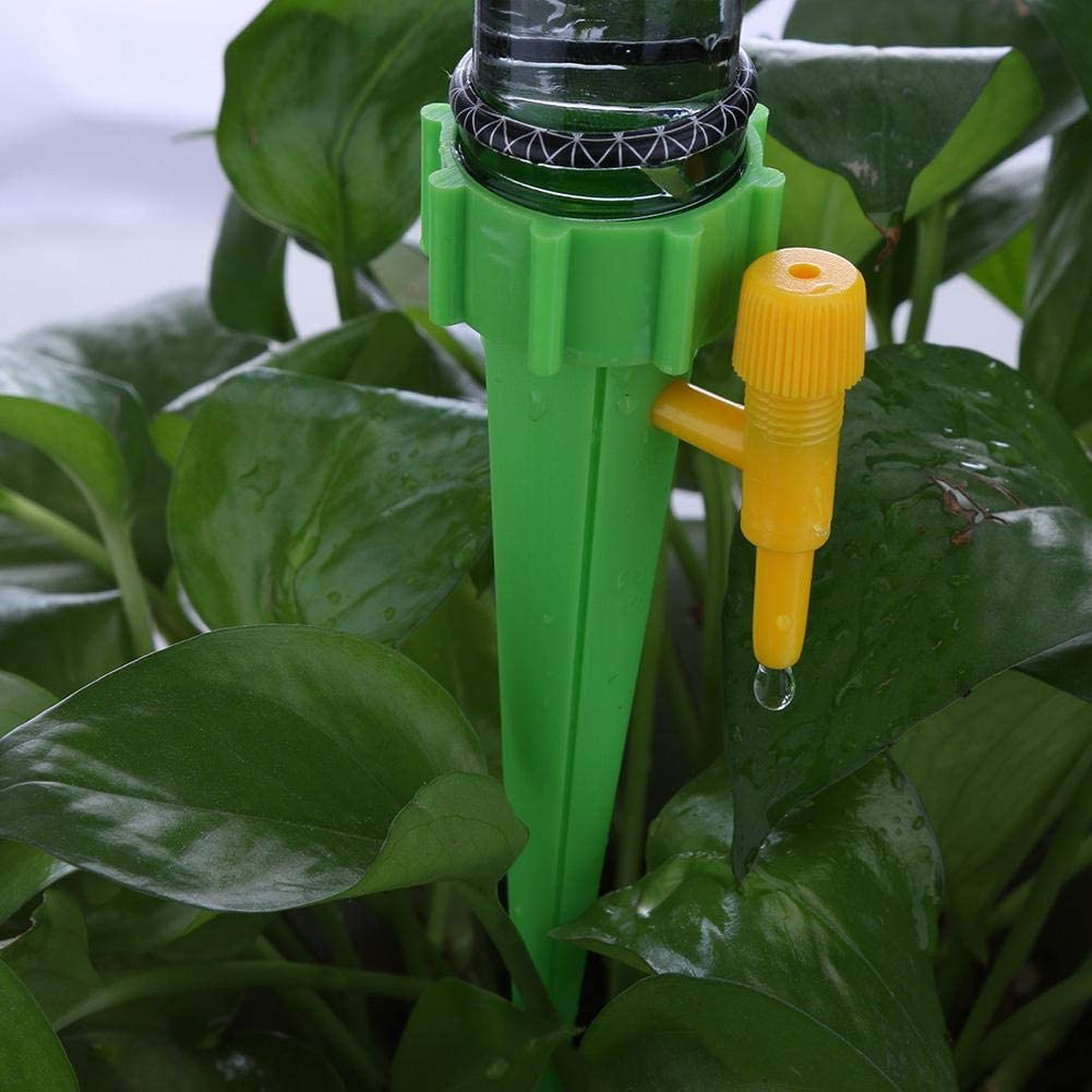 Auto Drip Irrigation System Automatic Watering Spike for Plants 1pc Green