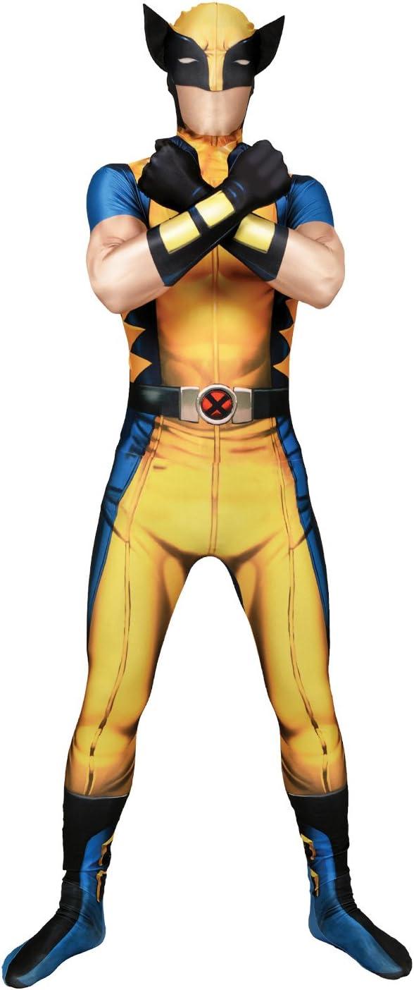 Morphsuits - Disfraz Wolverine, Multicolor, talla XXL (186cm-206cm ...