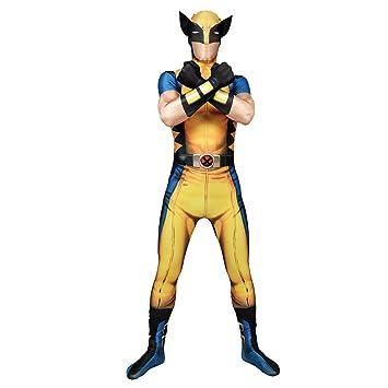 Morphsuits - Disfraz Wolverine, Multicolor, talla XL (176cm-185cm)