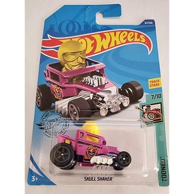 Hot Wheels 2020 Tooned Skull Shaker, Pink 61/250: Toys & Games