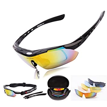 West ciclismo hombres mujeres Unisex 5 lentes ...