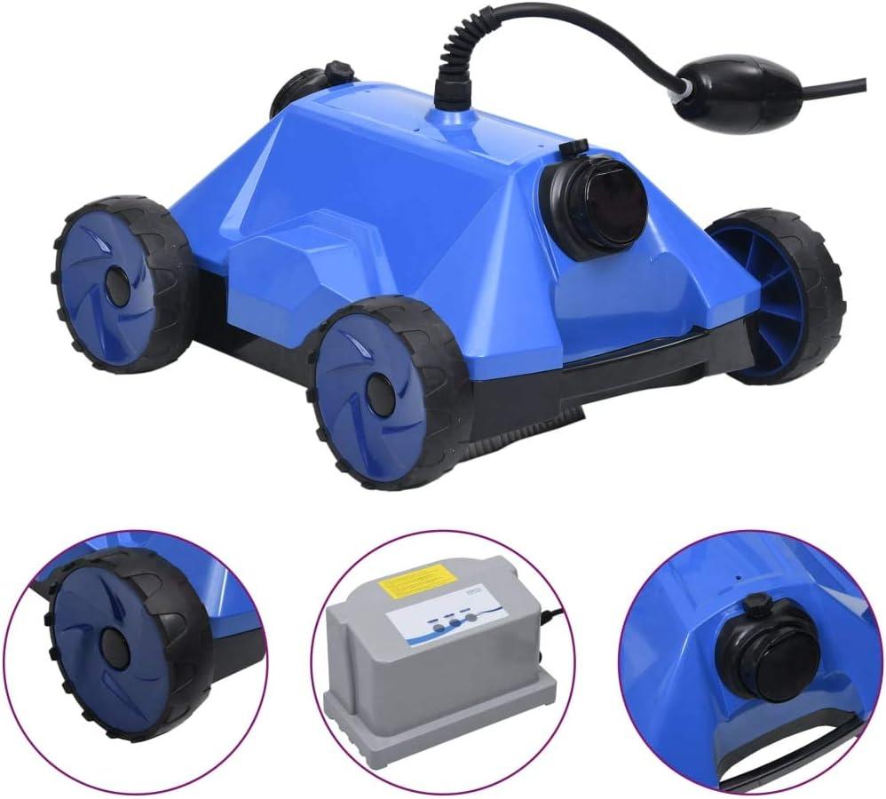 Goliraya Robot Limpiador de Piscina Robot Eléctrico Limpiafondos de Piscina 48 x 46 x 31,7 cm: Amazon.es: Hogar