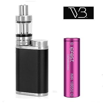 Auténtico Eleaf Istick Pico Cigarrillo electrónico 75W Kit de inicio con 1 X EFEST 3000mAh 18650 Batería (Negro) Sin Tabaco y Sin Nicotina