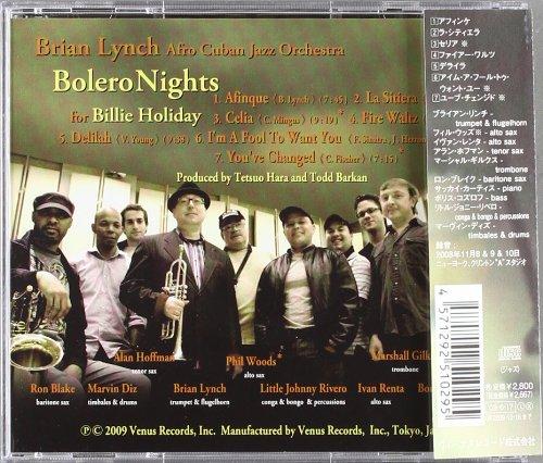 Bolero Nights For Billy Holliday