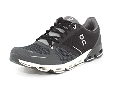 on Running Mens Cloudflyer Road Shoes Black/White SZ 8
