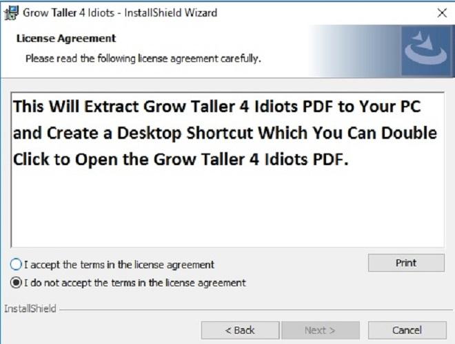 Grow Taller For Idiots Ebook