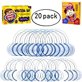 20 Pack Dental Cheek Retractor for Watch Ya Mouth/Speak Out Game C-SHAPE Teeth Whitening Intraoral Lip Mouth Opener-Best Dental Blue Color Medium for Adults