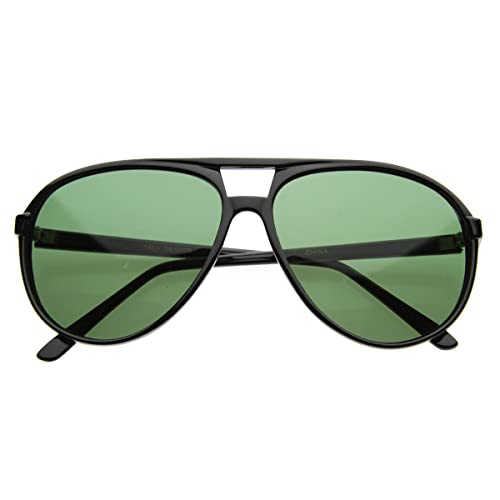 2549d876d76 Image Unavailable. Image not available for. Color  Classic Teardrop Acetate  Green Aviator Sunglasses ...