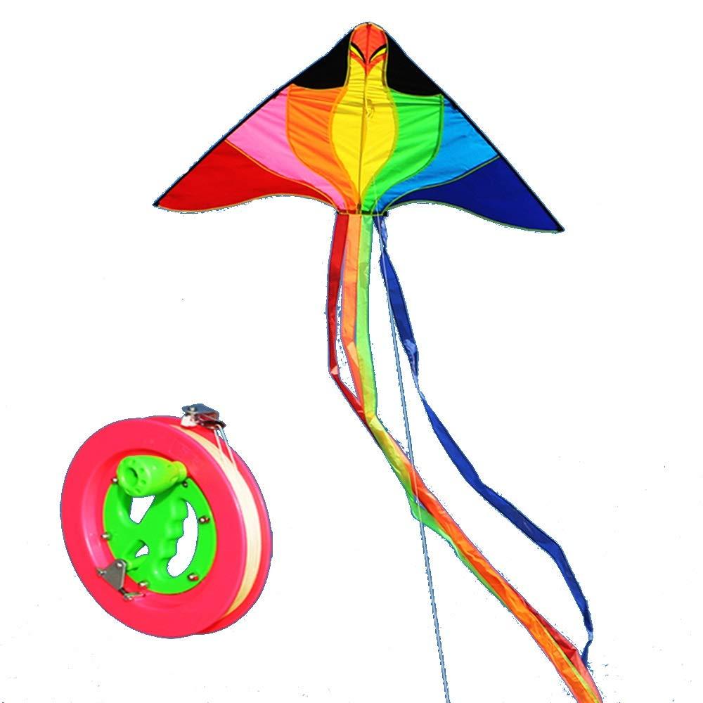 autentico en linea D Cometa Dibujos Animados Infantiles De 2 Metros, Carrete, Fácil Fácil Fácil De Volar. (Color   D)  comprar marca