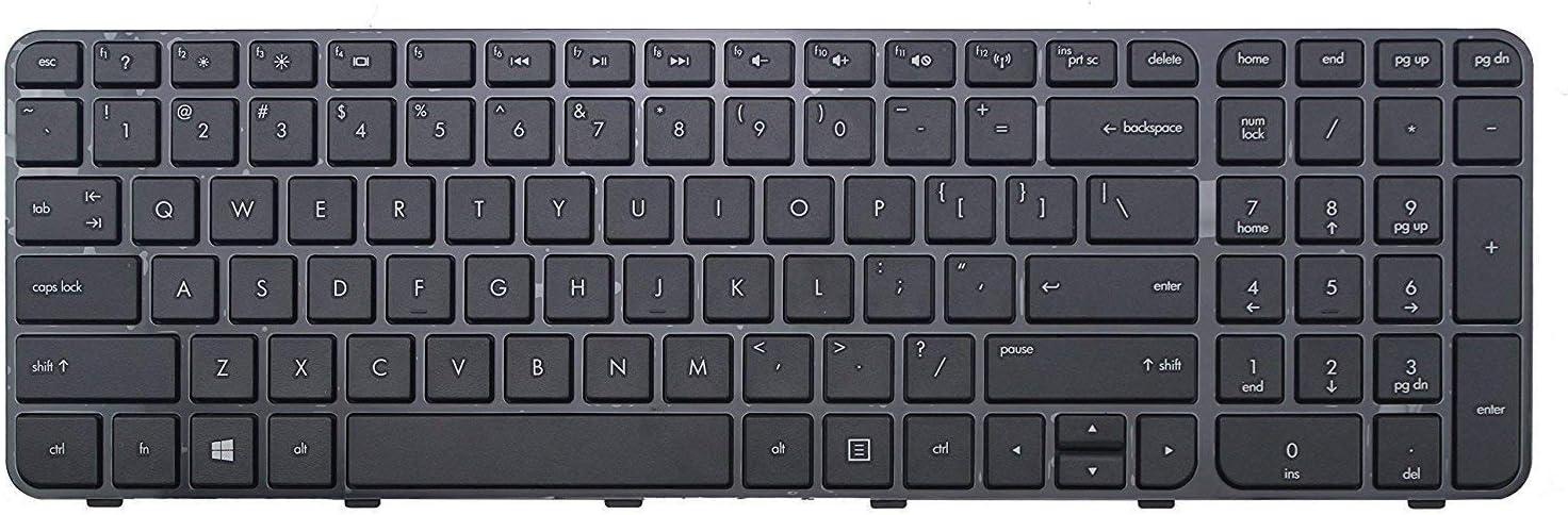 Original New Laptop Replacement US Black Keyboard for HP Pavilion g6-2002xx g6-2010nr g6-2208ca g6-2210us g6-2211nr with Frame