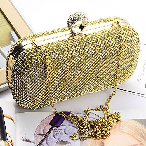 Prom Handbag Party Clutch donna a Elegant Shinning catena For da Auming and Diamond Borsa a Purse Women tracolla Z5SHaqw