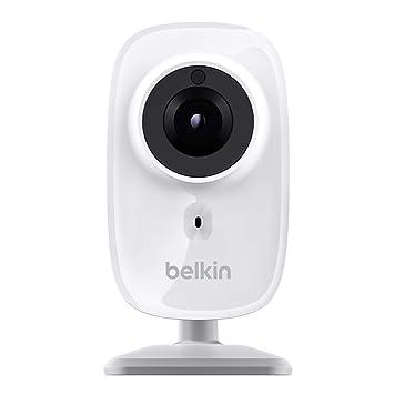 Belkin F7D7602AS - NETWORKING IP CAMERA NETCAM HD, blanco