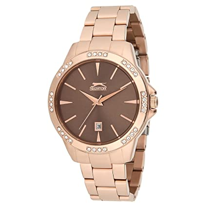 SLAZENGER Womens Analogue Metallic Watch-SL91084302