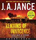 Remains of Innocence Low Price CD: A Brady Novel of Suspense (Joanna Brady Mystery)