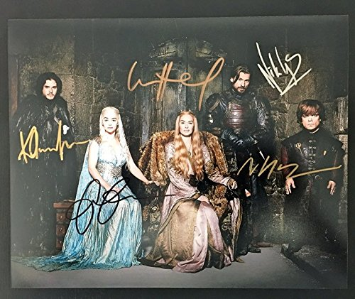 Game of Thrones Cast Autographed 8x10 Photograph